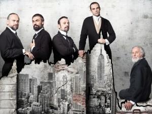 """Lehman Trilogy"" di Stefano Massini, regia di Luca Ronconi (foto: Luigi La Selva)."