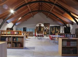 Museo dell'Attore di Genova: la sala di lettura.