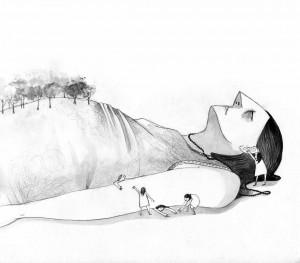 Illustrazione di Mariagiulia Colace.