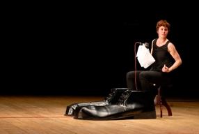 """""""Ma"""" da Pier Paolo Pasolini, regia di Antonio Latella (foto: Brunella Giolivo)."""