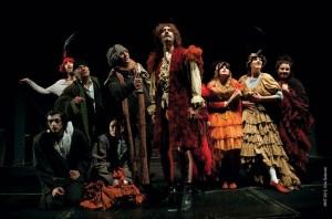 """""""Il signor de Moliere"""", regia di Alexandar Popovski, Koreja Teatro."""