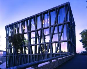 il Pavillon Noir di Aix-en-Provence, progetto di Rudy Ricciotti (foto: Philippe Ruault).