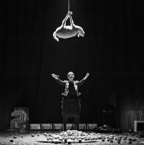 """""""Jesus"""" di Babilonia Teatri (foto: Eleonora Cavallo)."""