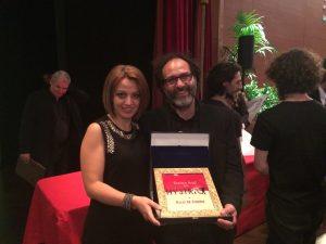 Oscar De Summa con Filippa Ilardo,