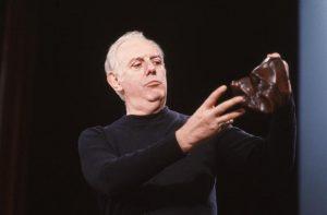 Milan 1990 - Dario Fo , actor Milano 1990 - Dario Fo , attore