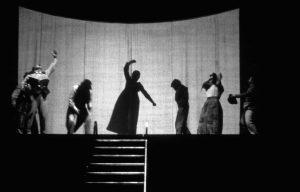 """""""I giganti della montagna"""", regia di Giorgio Strehler (Piccolo Teatro di Milano)."""