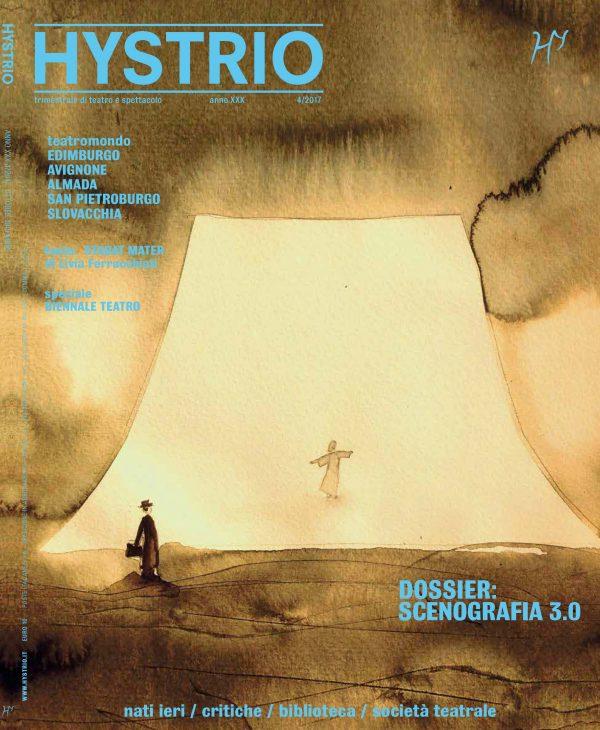 Copertina di Hystrio 42017 (ill. di Maria Spazzi)