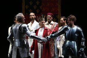 Richard II, regia P. Stein, Estate Teatrale Veronese 2017 (foto: P. Porto).