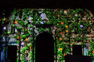 Scenografia videomapping per l'Olimpico di Vicenza.