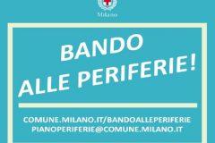 Comune di Milano, Bando periferie urbane 2018
