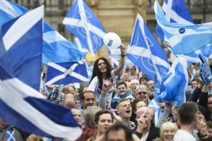 Scozia, Yes Campaign, per l'indipendenza.