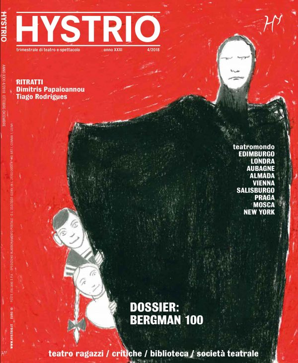 Hystrio n.42018 cover (ill. di Ferdinando Bruni)