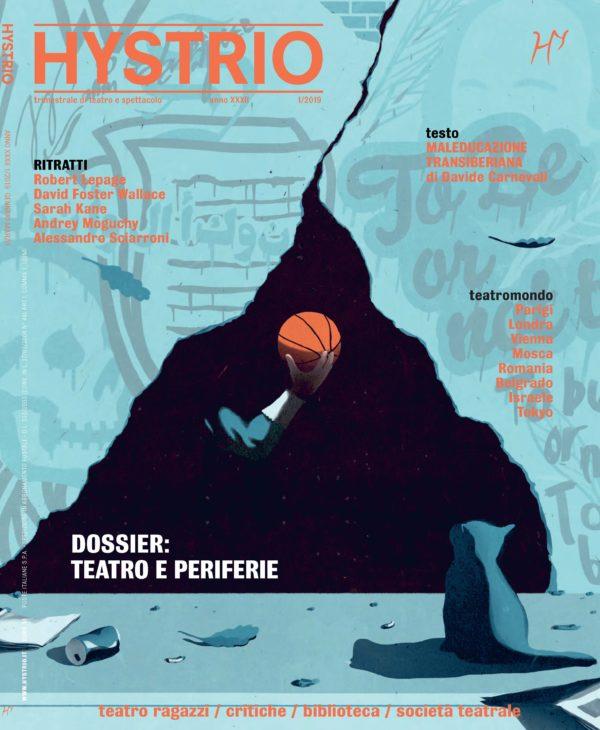 Hystrio n.12019 cover (ill. di Paolo Beghini)