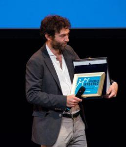 Hystrio_Premio Hystrio alla Dramamturgia a Davide Carnevali_foto Valentina Colombo