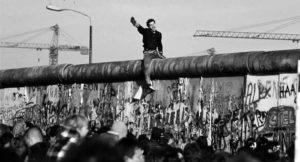 Berlino, 1989. La caduta del muro.