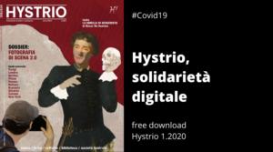 Hystrio e la solidarietà digitale