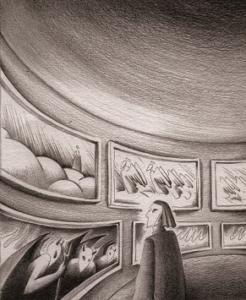 Dante in scena, ill. di Irene Bonefacic