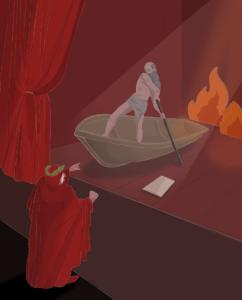 Dante in scena, ill. di Federica Iaconis