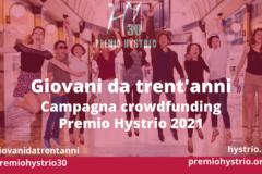 Campagna crowdfunding Premio Hystrio 2021